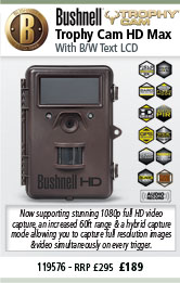 Bushnell Trophy Cam HD Max New 2013 Model