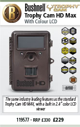 Bushnell Trophy Cam HD Max - Colour LCD