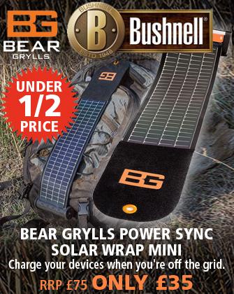 Bushnell Bear Grylls Power Sync Solar Wrap Mini