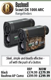 Bushnell Scout DX 1000 Rangefinders