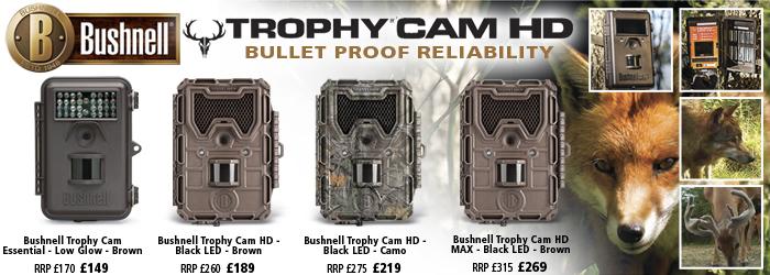 Bushnell Trophy Cam HD Cameras