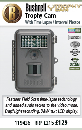 Bushnell Trophy Cam - Brown