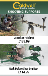 Caldwell Deadshot Field Pod and Rock Deluxe Shooting Rest