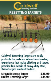 Caldwell Airgun and Rimfire Resetting Target