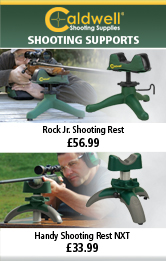 Caldwell Handy Shooting Rest NXT and Rock Jr. Shooting Rest