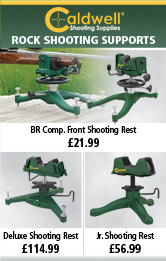 Caldwell Rock BR Comp. Front Shooting Rest, Rock Deluxe Shooting Rest and Rock Jr. Shooting Rest