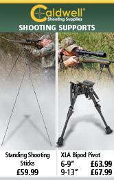 Caldwell Standing Shooting Sticks and XLA Bipod Pivot