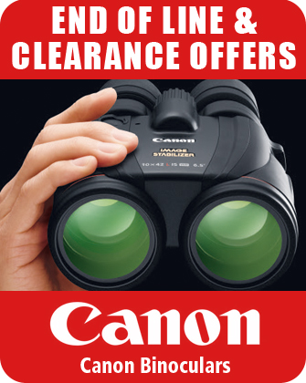 Canon Binoculars End of Line Clearance