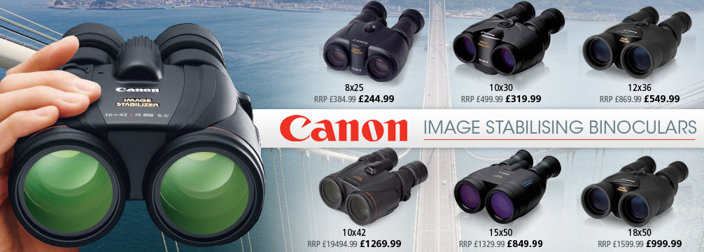 Cano Image Stabilising Binoculars