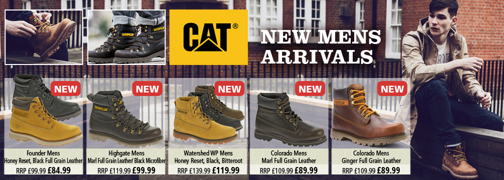 Cat New Mens Boots