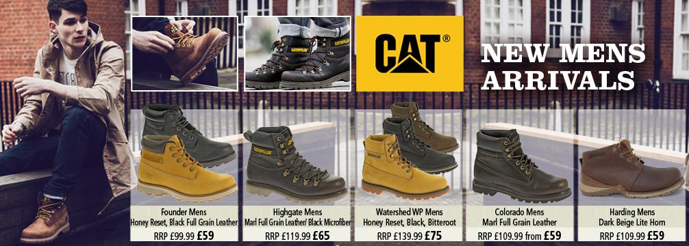 Cat New Mens Boots