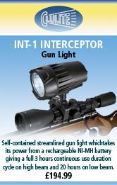 Clulite Int-1 Interceptor Gun Light