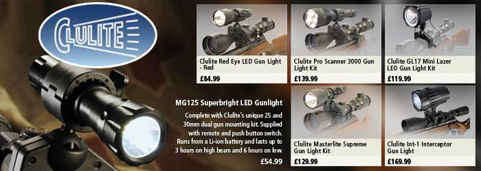 Clulite Gun Lights