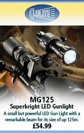 Clulite MG125 Superbright LED Gunlight