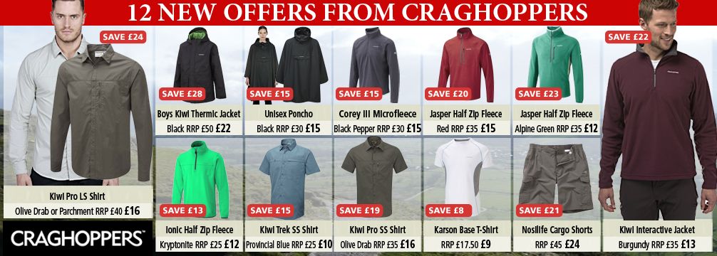 Craghoppers 12 New Offers