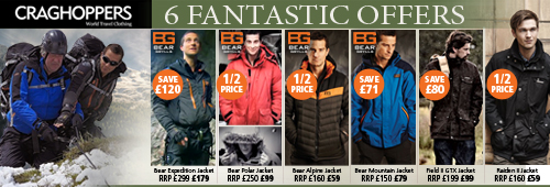 Craghoppers Clothing 6 Fantastic Offers