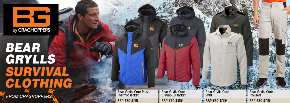 Craghoppers New Bear Grylls