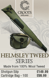 Croots Helmsley Tweed Shotgun Silp and Cartridge Bag
