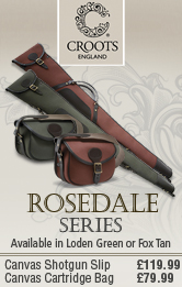 Croots Rosedale Shotgun Silps and Cartridge Bags
