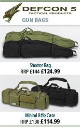 Defcon 5 Shooter Bag and Minimi Rifle Case