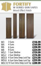 Fortify W Series Gun Safes