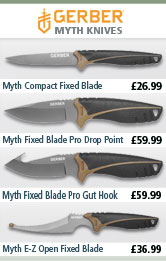 Gerber Myth Knives