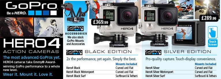 GoPro Hero 4 Action Cameras