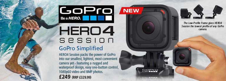 GoPro Hero 4 Session Action Camera