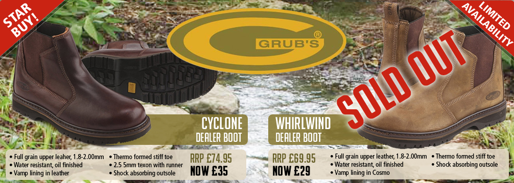 Grubs Dealer Boots