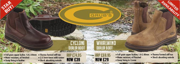 Grubs Deaker Boots
