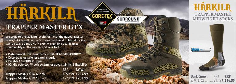 Harkila Trapper Master Field Sports Footwear