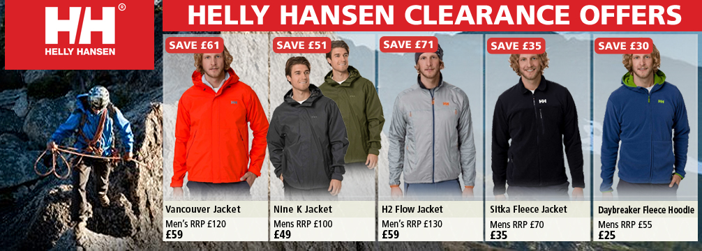 Helly Hensen Clothing Clearance