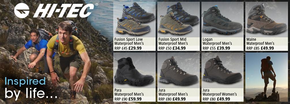 Hi-Tec Walking Boots