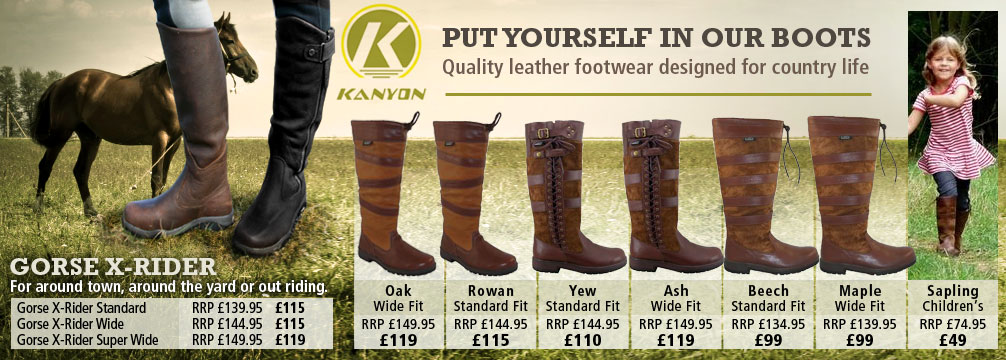 Kanyon Outdoor Country Boots
