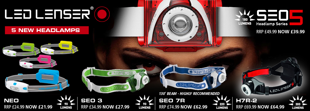 Ledlenser Headlamps