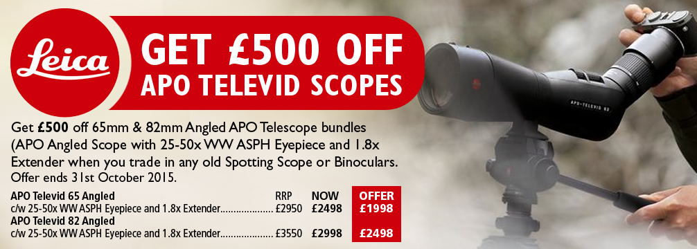 Leica APO Televis Spotting Scopes Offer