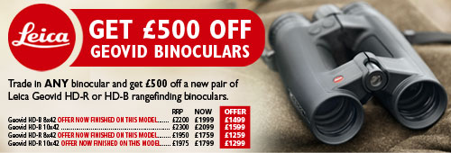 Leica Geovid Binocular Offer