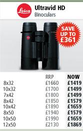 Leica Ultravid HD Binoculars
