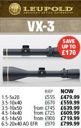 Leupold VX-3 Rifle Scopes