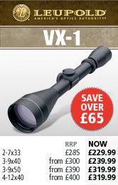 Leupold VX-I Rifle Scopes