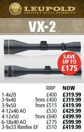 Leupold VX-II Rifle Scopes
