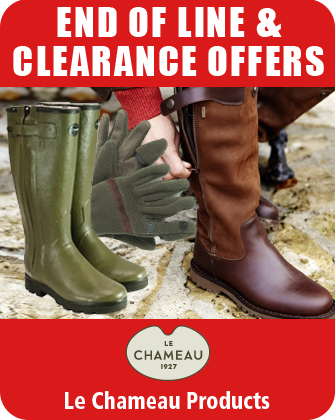 Le Chameau End of Line and Clearance Offers