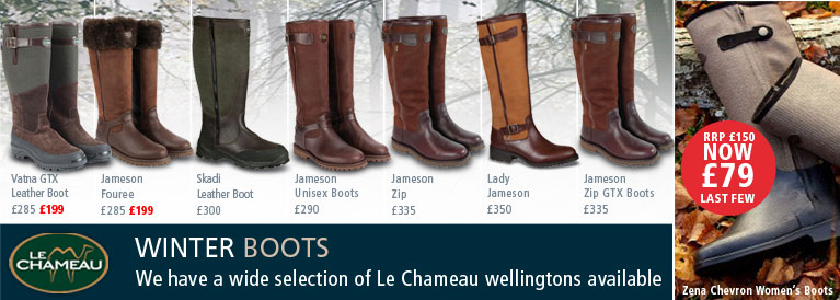 Le Chameau Winter Boots