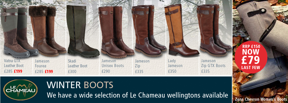 Le Chameau Winter Boots