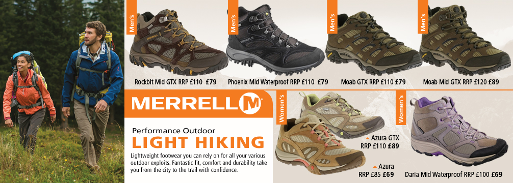 Merrell Light Hiking