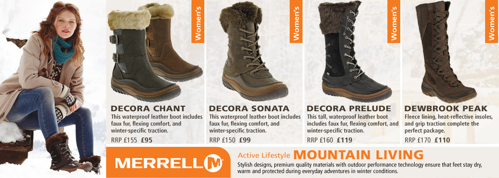 Merrell Mountain Living Collection
