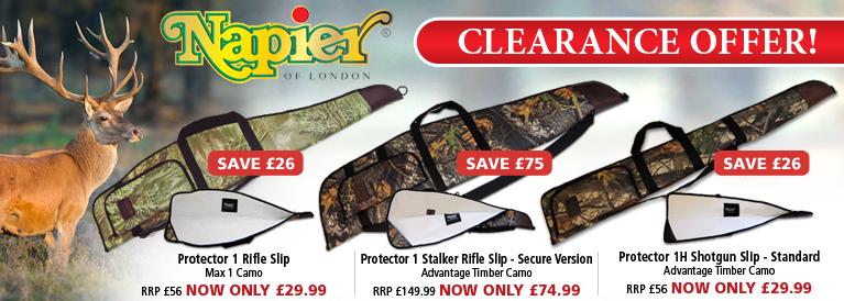 Napier Camo Gun Bags Clearance