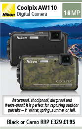Nikon AW 110 Compact All Weather Digital Camera