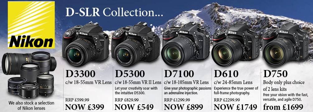 Nikon D-SLR Range