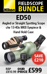 Nikon ED50 Fieldscope Bundles